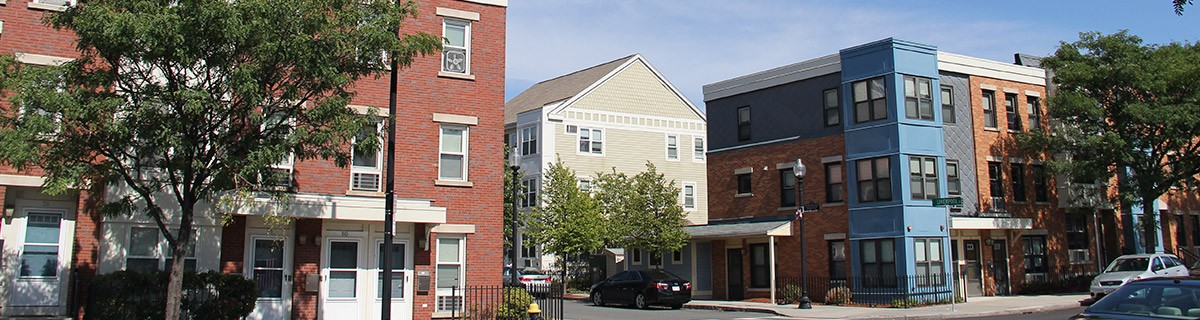 East Boston Neighborhood Street